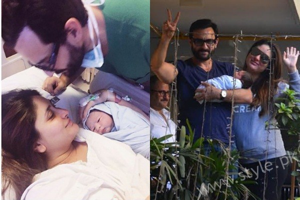 See Kareena Kapoor and Saif Ali Khan with their son