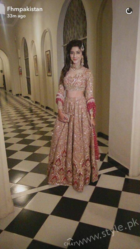 Mawra Hocane at Urwa Hocane's Reception