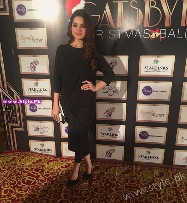 Minal Khan Gats By Night Christmas Ball Pictures