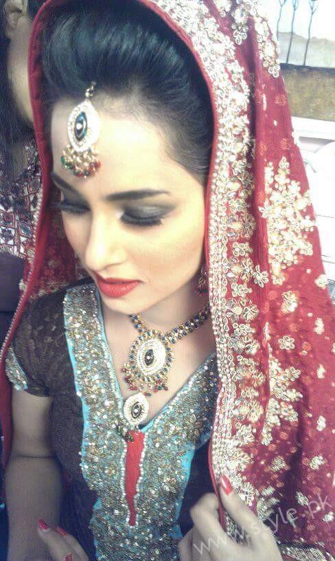 Nimra Khan bridal saloon