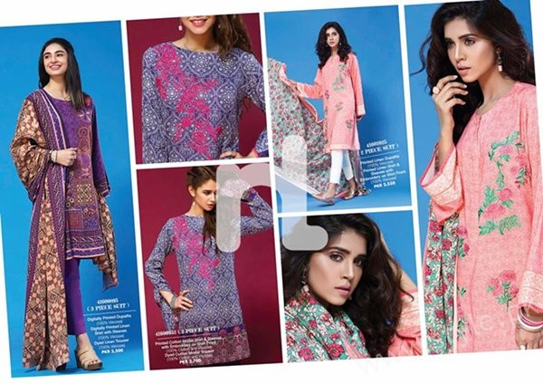 Nishat Linen Winter Dresses 2016-2017 Volume II for Women007