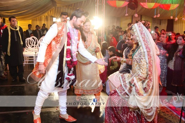 Noman and Asma Nikah Pictures