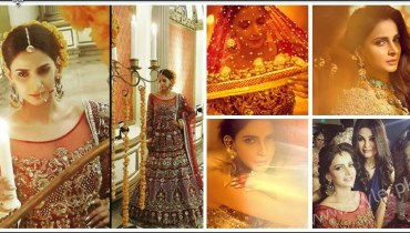 Saba Qamar Erum Khan Bridal Photoshoot