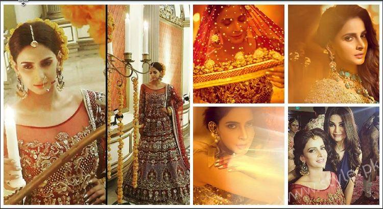 Saba Qamar Erum Khan Bridal Photoshoot