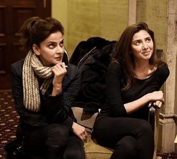 Saba Qamar and Mahira Khan