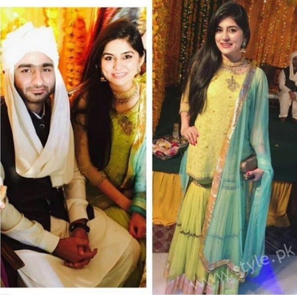 Sanam Baloch At Aisha's Brother Wedding