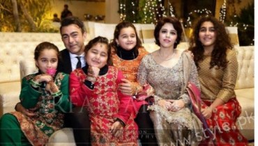 Shaan Shahid Wife and Daughters