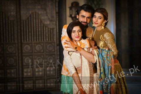 Urwa Farhan and Mawra at Qawali Night