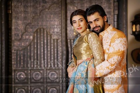 Urwa Hocane and Farhan Saeed Qawaali Night