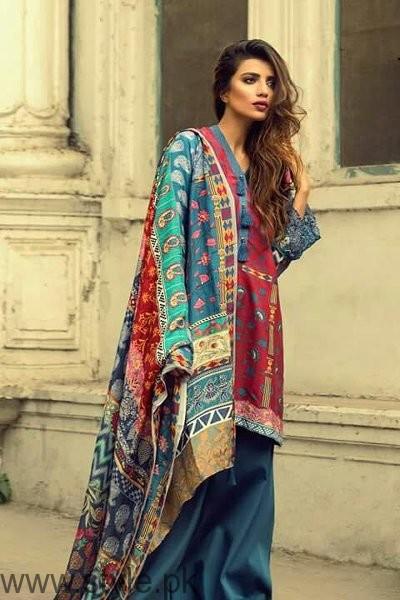 Zara Shahjahan Silk Dresses 2016-2017 For Women003