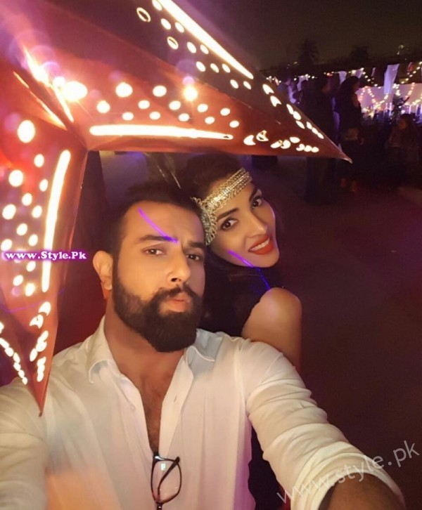 Zhalay Sarhadi and Noor Hassan Gatsby Night Picture