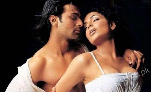 Actress Meera and Ashmit Patel Romantic