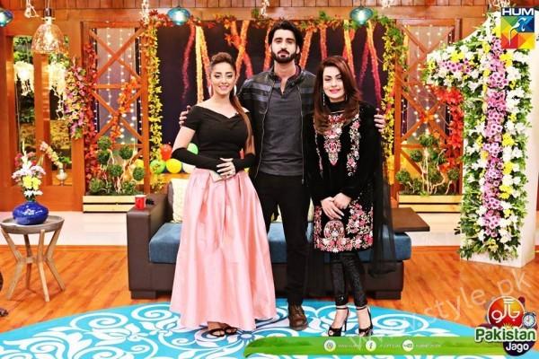 Agha Ali and Sanam Chaudhry in Jago Pakistan Jago (20)