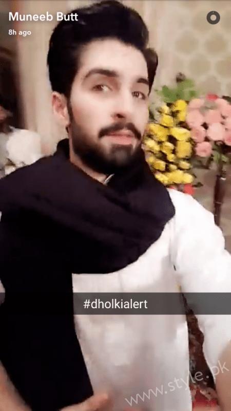 Aiman Khan Muneeb Butt Dholki (2)