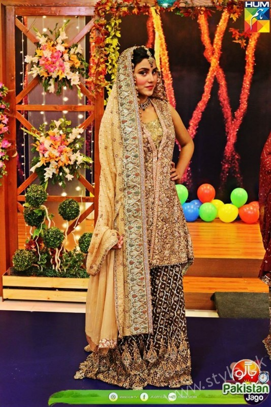 Bridal Fashion Trends in Pakistan dispalyed at Jago Pakistan Jago (4)