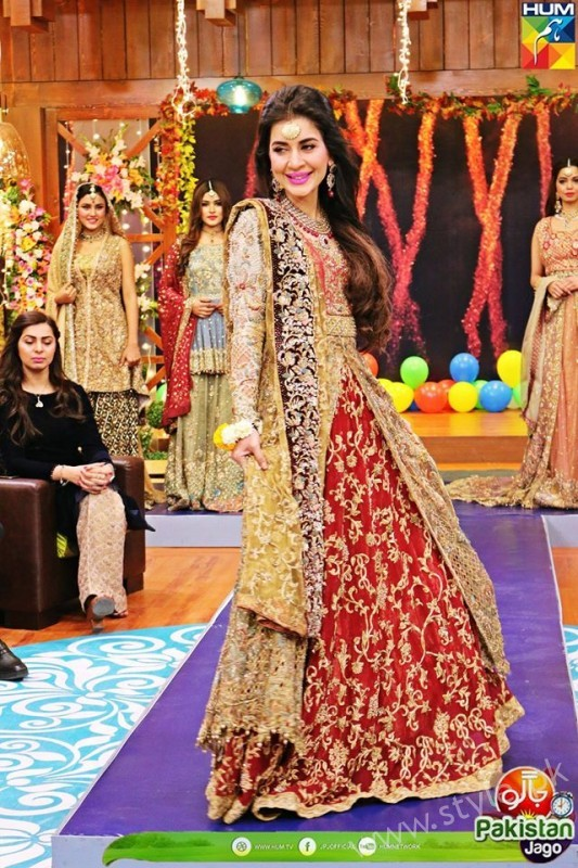 Bridal Fashion Trends in Pakistan dispalyed at Jago Pakistan Jago (7)