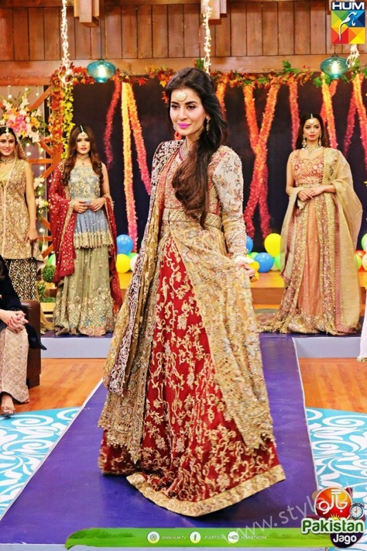 Bridal Fashion Trends in Pakistan dispalyed at Jago Pakistan Jago (8)
