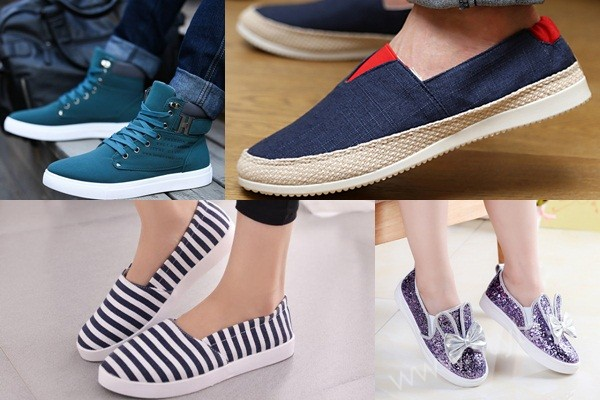 See Canvas Shoes for Men, Women and Girls in Pakistan