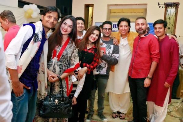 Celebrities at Javeria Saud's daughter Jannat Saud's Birthday Party (11)