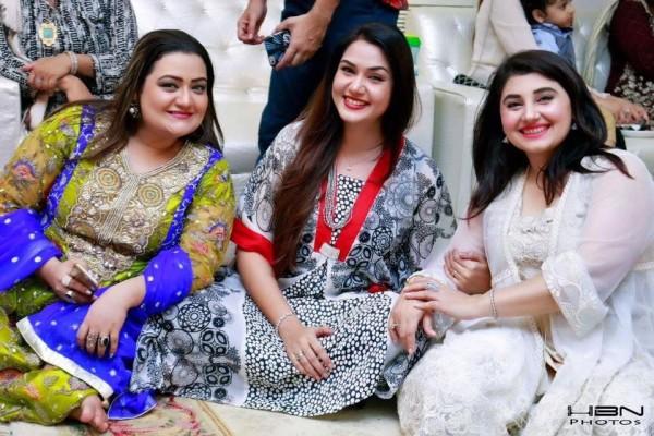 Celebrities at Javeria Saud's daughter Jannat Saud's Birthday Party (25)