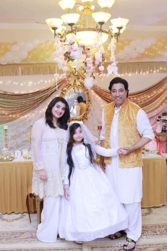 Celebrities at Javeria Saud's daughter Jannat Saud's Birthday Party (31)
