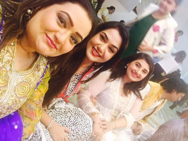 Celebrities at Javeria Saud's daughter Jannat Saud's Birthday Party (7)