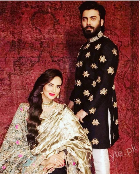 Fawad Khan and Mehreen Syed's Photoshoot for Silk (8)