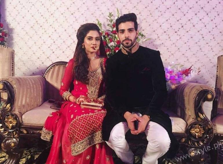Furqan Qureshi and Sabrina Naqvi- Pakistani celebrities Married in 2016