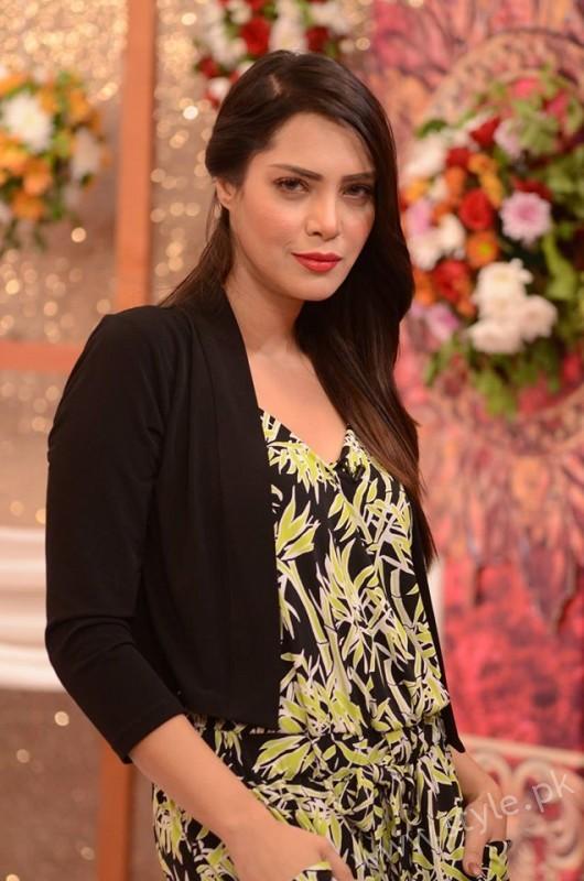 Kon Bane Gi Humayun Asraf Ki Dulhan Special Show in Good Morning Pakistan (15)