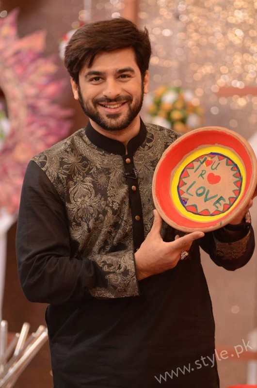 Kon Bane Gi Humayun Asraf Ki Dulhan Special Show in Good Morning Pakistan (6)