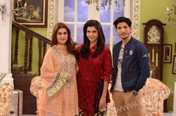 Kubra Khan, Nida Yasir and Mohsin Abbas