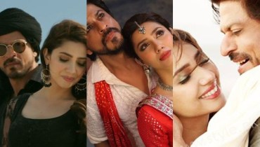 See Mahira Khan and Shahrukh Khan's Chemistry in Raees gives us Major Love Goals