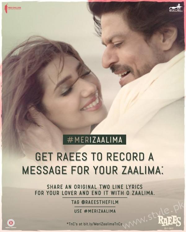 Mahira Khan and Shahrukh Khan's Chemistry in Raees gives us Major Love Goals (11)