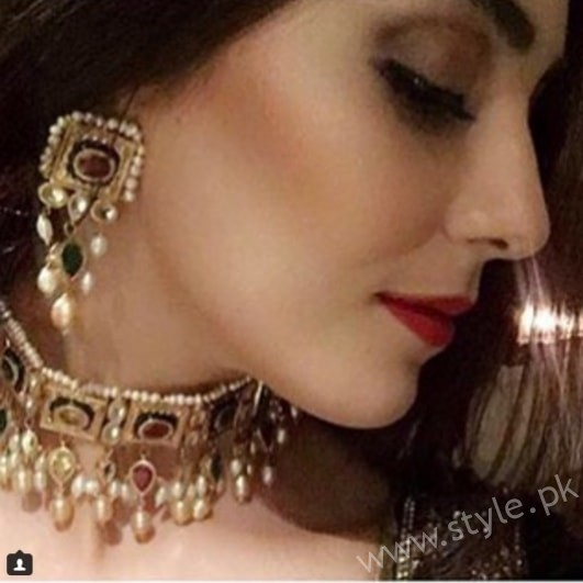 Maya Ali Aiman Muneeb Engagement (4)