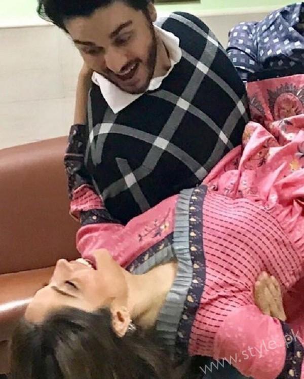 Neelum Muneer and Ahsan Khan Hot