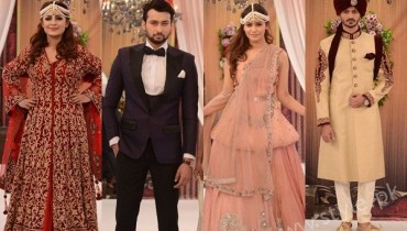 See Pakistani Bride's and Groom's Fashion Trends