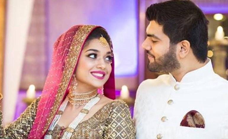 Sanam Jung and Qassam Jafri- Pakistani Celebrity Marriages