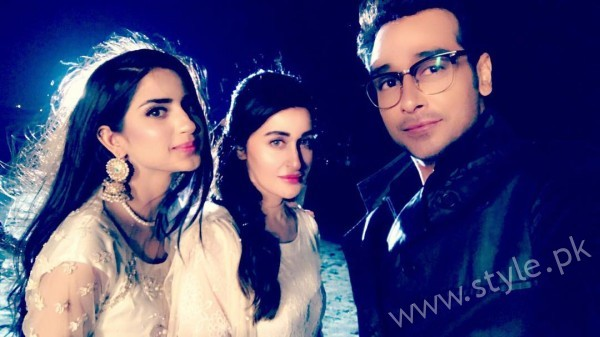 Shaista Lodhi is once again making her come back on GEO TV (2)