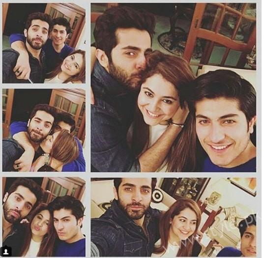 Shehryar Munawar's Family (4)