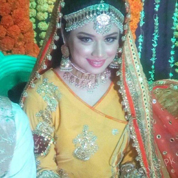 Sidra Batool Mehndi Pictures