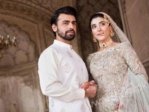 Urwa and Farhan Saeed- Celebrity Marriages in 2016