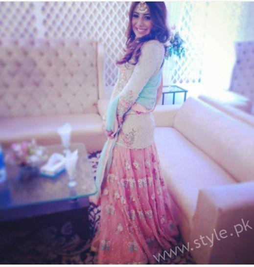 Ushna Shah at her Friend's Wedding (2)