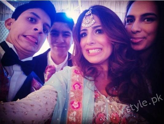 Ushna Shah at her Friend's Wedding (7)