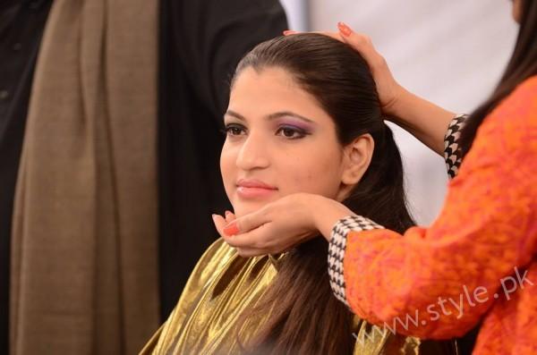 Waqar Hussain Makeup Class Good Morning Pakistan (3)