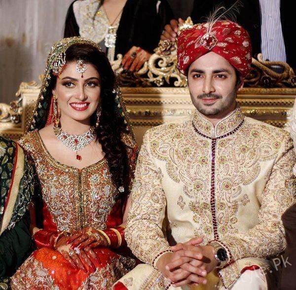 Ayeza Khan Wedding Pic