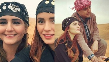 See Momina Mustehsan with her Parents in UAE