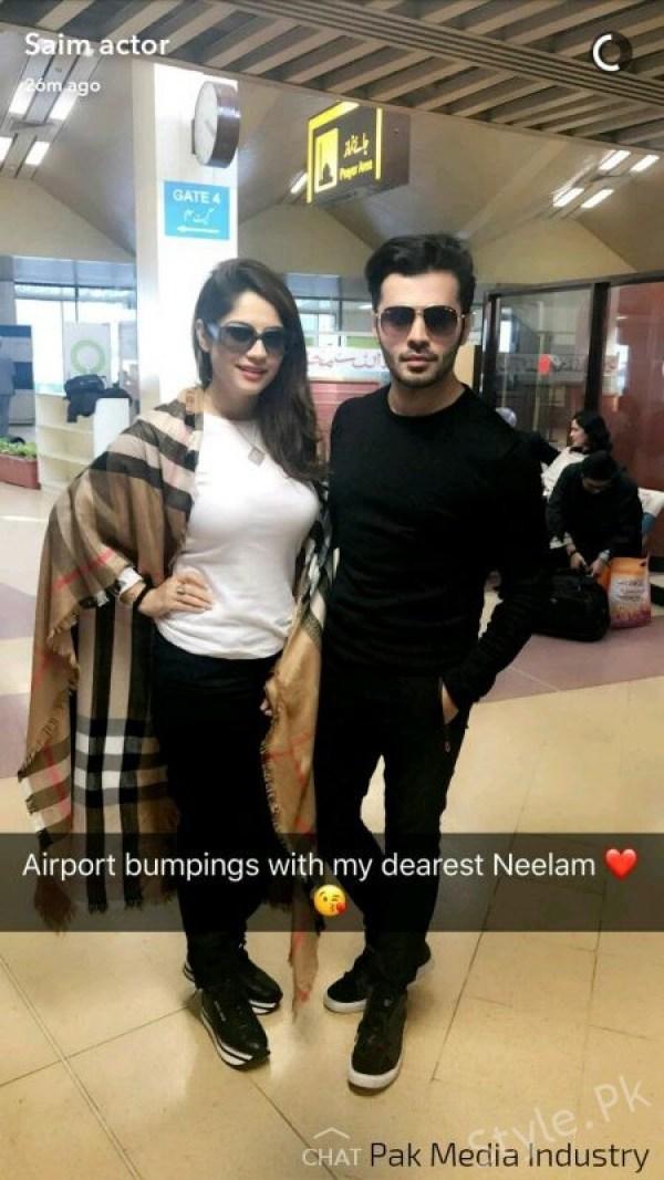 Neelum Muneer and Saim Ali