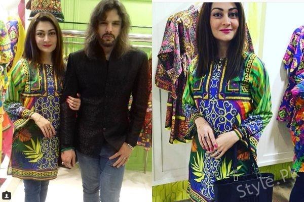 See Recent Pictures of Nouman Javaid and Jana Malik at Rang Ja