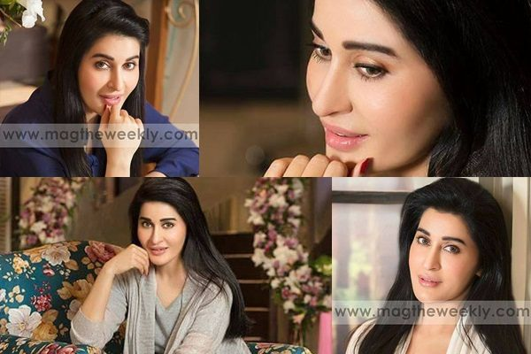 See Shaista Lodhi's Photoshoot for The Mag Magazine