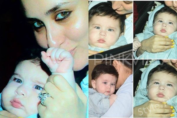 See Pictures of Kareena Kapoor's son have taken the Internet by Storm
